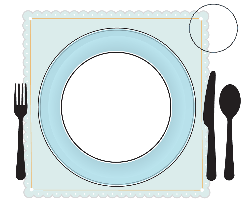 Kid set table clipart banner library library Clipart Set Table The Image Kid Has It Round Counter Height Table Set banner library library