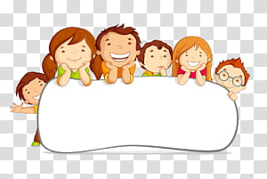 Kid sitting at table clipart white background download Child Cartoon Illustration, Card child children cute border, six ... download