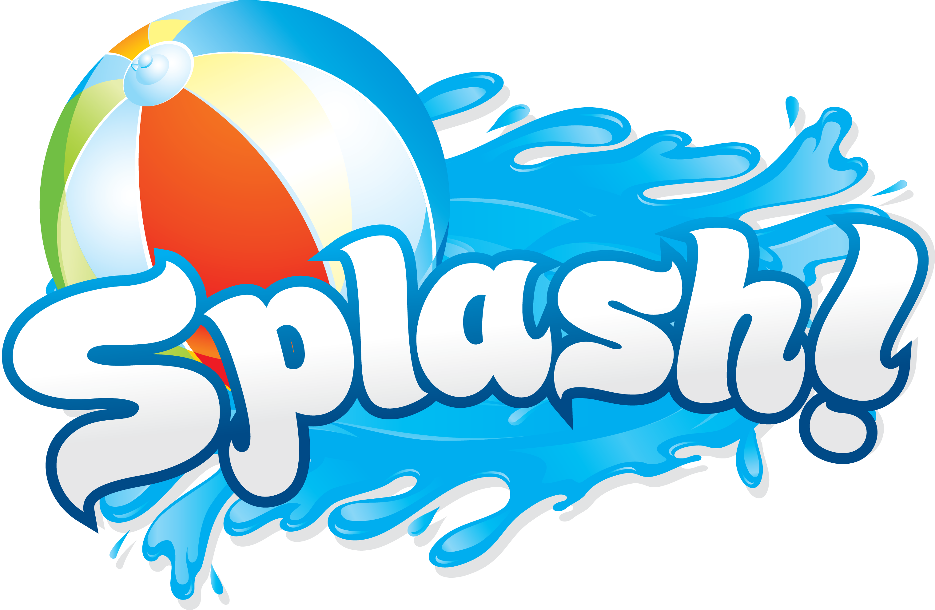 Kid splashing with water clipart white background clip stock Summer Water Fun Clipart - Clipart Kid   pool outdoor water ... clip stock
