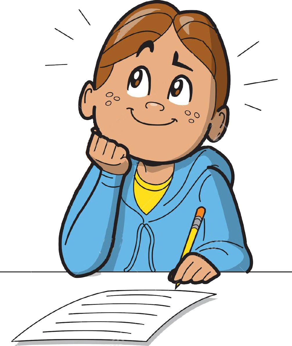 Kid thinking clipart vector transparent download Children Thinking Clipart | Free download best Children ... vector transparent download