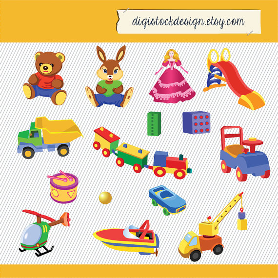 Kid toys clipart clip art black and white download Toys Clipart. Kids Clipart. | Clipart Panda - Free Clipart ... clip art black and white download