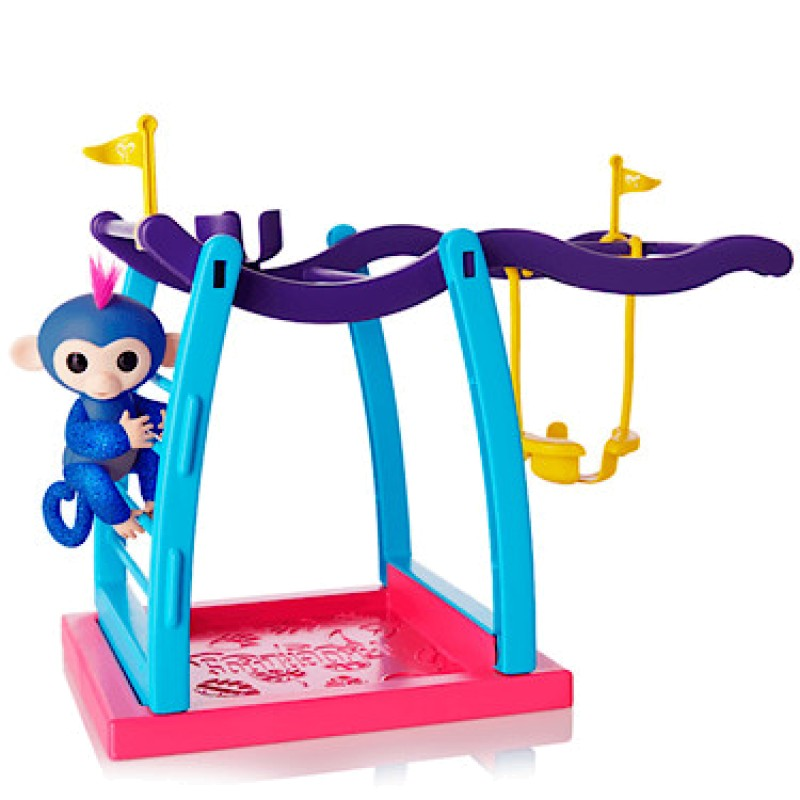 Kid upside down on monkey bars clipart picture royalty free Fingerlings Monkey Bar Playset with Glitter Fingerling ... picture royalty free