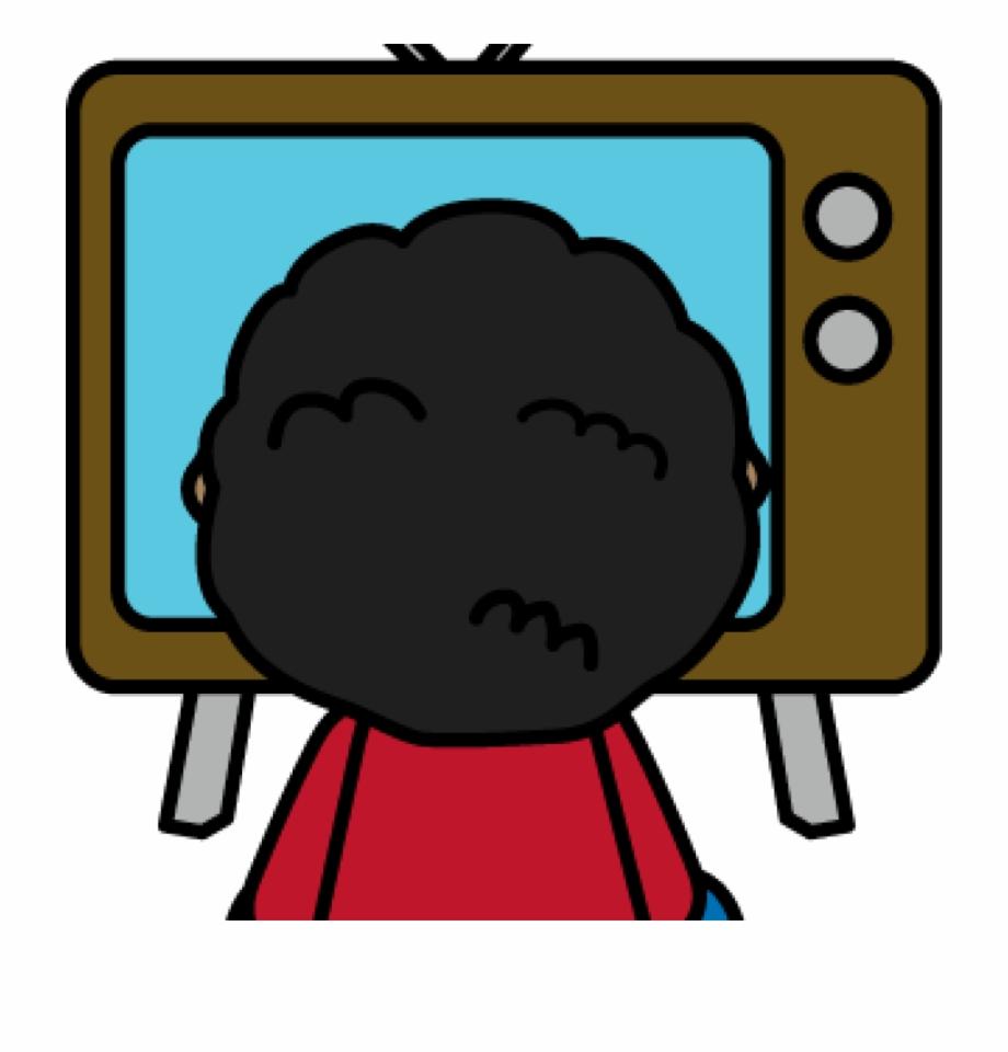 Kid watching tv clipart jpg free Watch Clipart La Tele - Kid Watching Tv Clipart ... jpg free