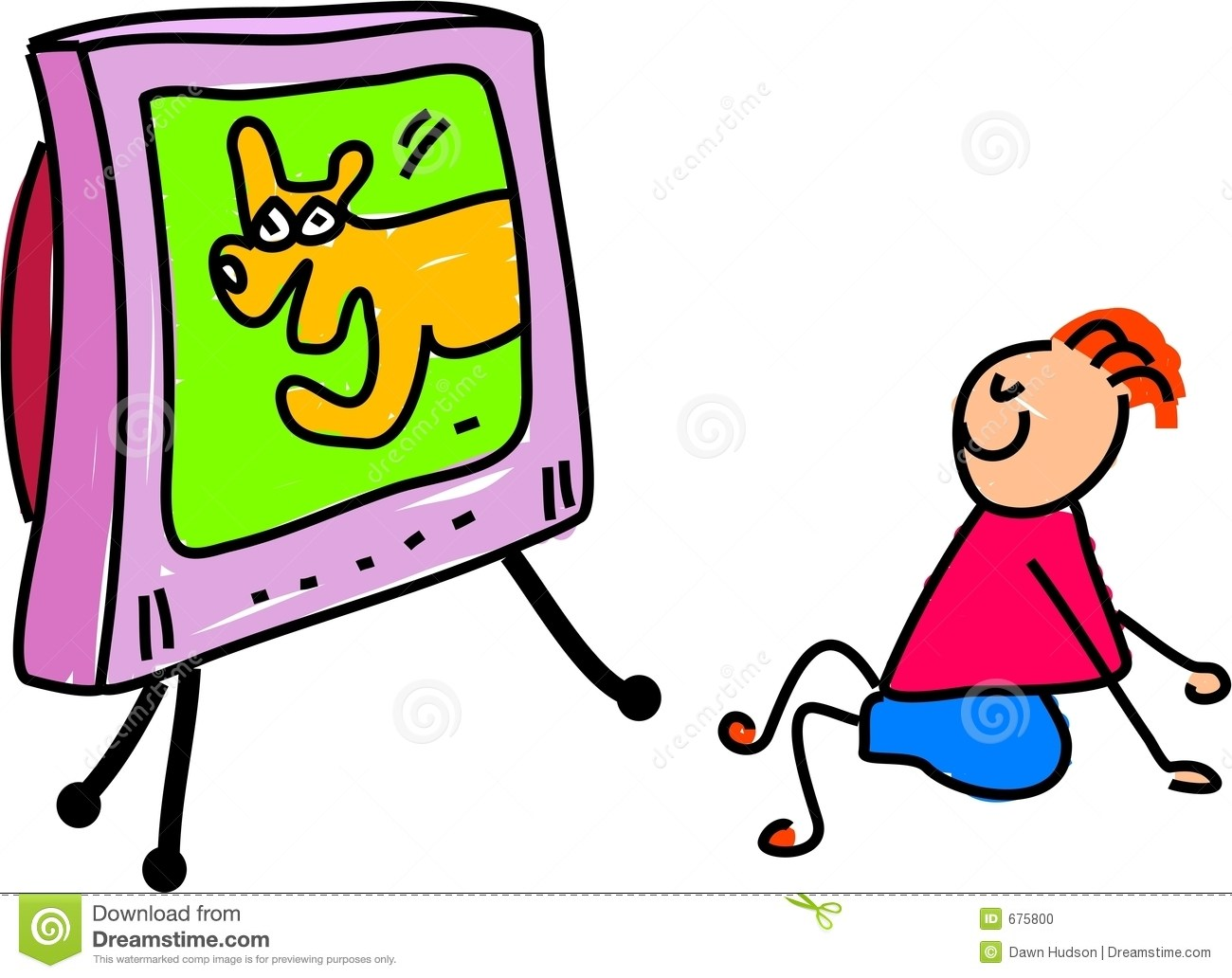 Kid watching tv clipart svg royalty free download Kid watching tv clipart 2 » Clipart Portal svg royalty free download