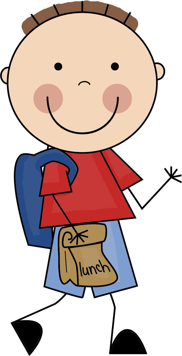 Kid with backpack clipart freeuse Kid with backpack clipart » Clipart Station freeuse