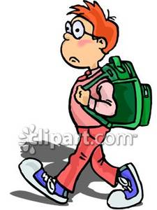 Kid with backpack clipart clip art royalty free download Kid With Backpack Clipart | Clipart Panda - Free Clipart Images clip art royalty free download