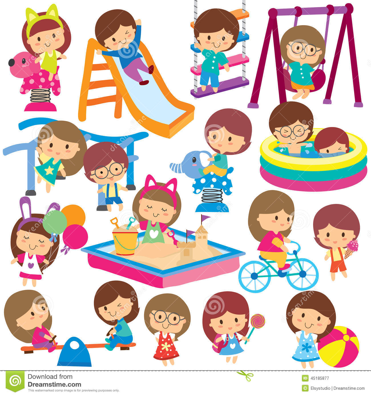 Kids activities clipart picture library stock Summer activities for kids clipart 8 » Clipart Station picture library stock