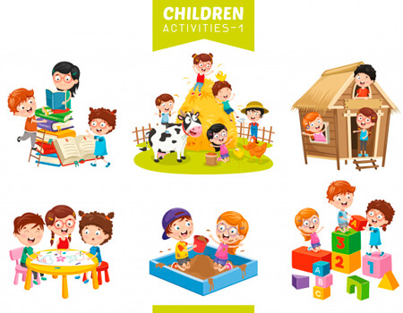 Kids activities clipart clip stock 100+ Free School Clipart for your Education Projects ... clip stock