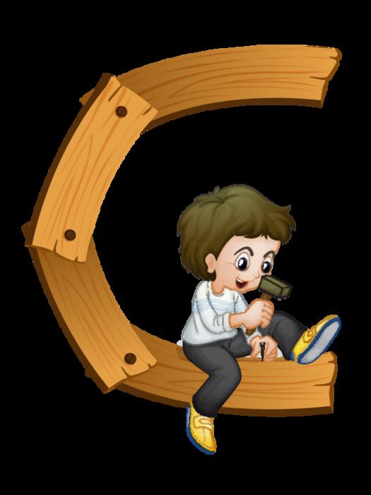 Kids alphabet letters clipart vector download CH.B *✿* | abecedario | Pinterest | Kids cards, Alphabet letters ... vector download