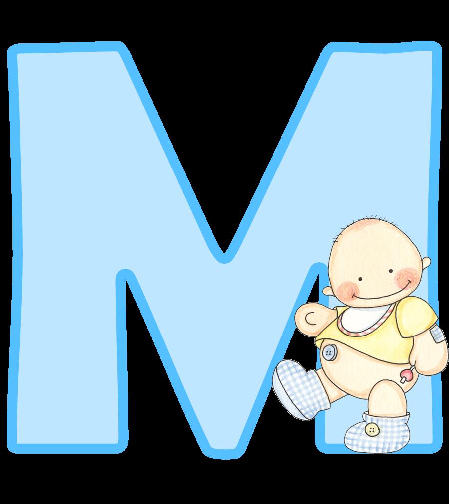 Kids alphabet letters clipart clip royalty free stock Alfabeto con lindo bebé. | Oh my Alfabetos! | Chu xanh | Pinterest clip royalty free stock