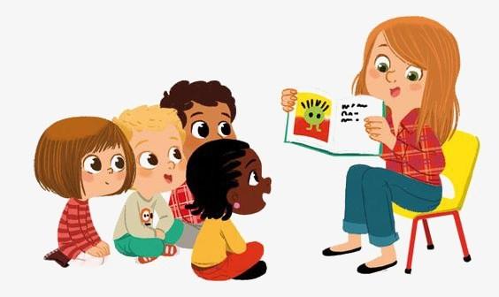 Kids and teacher clipart vector Teacher teaching kids clipart 5 » Clipart Portal vector