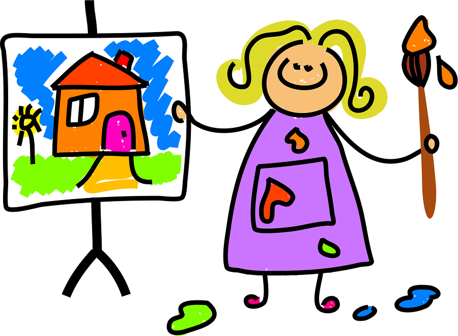 Kids artwork clipart clip royalty free download Art Pictures For Kids | Free Download Clip Art | Free Clip Art ... clip royalty free download