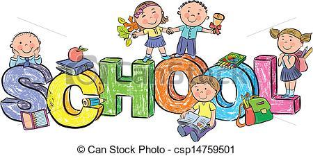 Kids artwork clipart svg free download School Children Clipart & School Children Clip Art Images ... svg free download