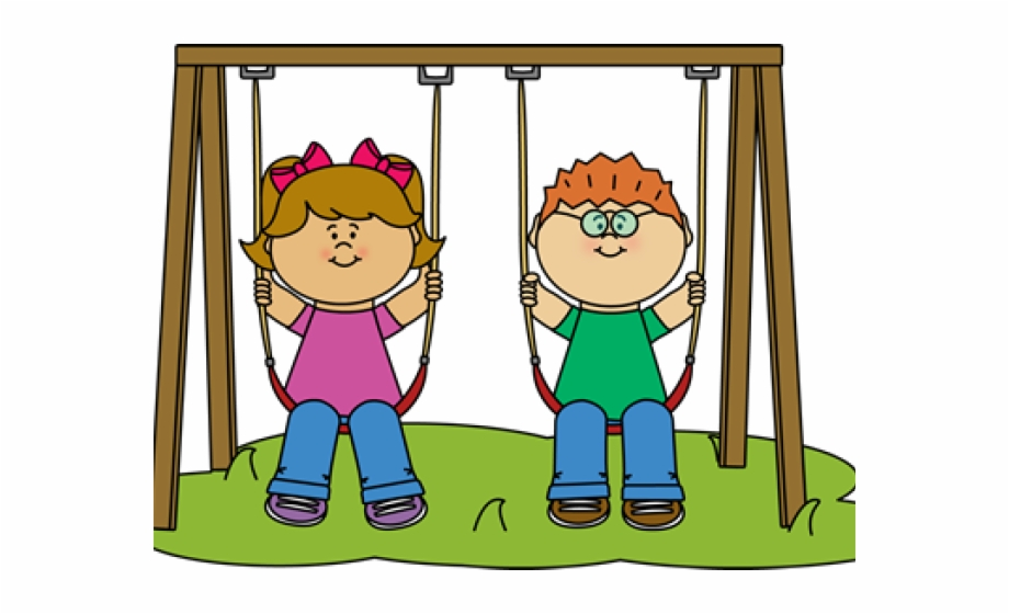 Kids at recess clipart picture transparent library Free Recess Png - Child Swinging Clipart {#1894111} - Pngtube picture transparent library
