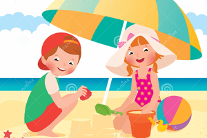 Kids at the beach clipart free Kids at the beach clipart » Clipart Portal free