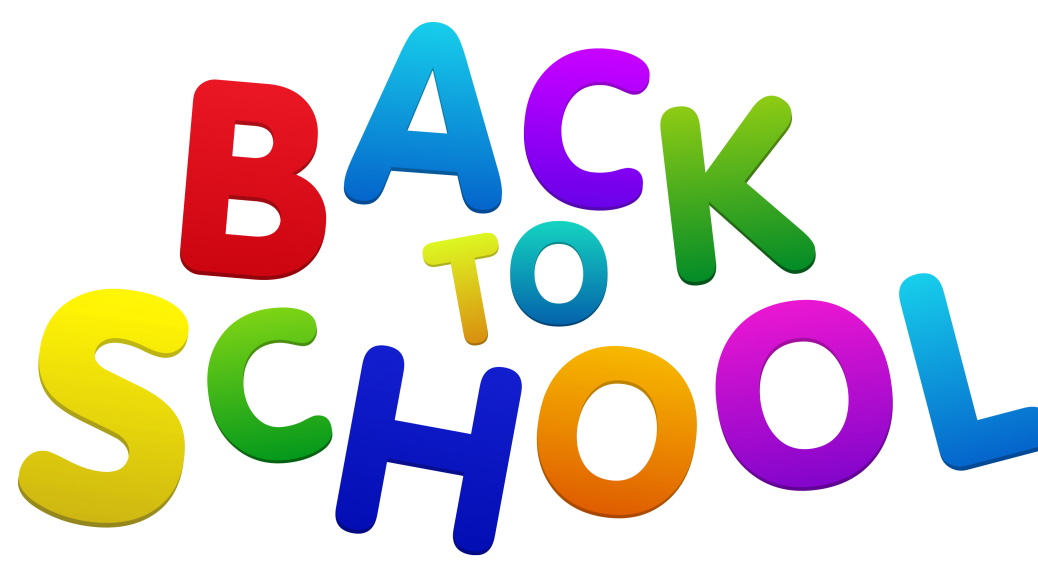 Kids back to school clipart black and white stock Using Essential Oils for Kids Going Back to School | Davidson County ... black and white stock