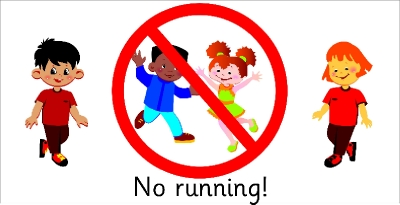 No running inside clipart black and white clip art black and white stock No running classroom clipart - Clip Art Library clip art black and white stock