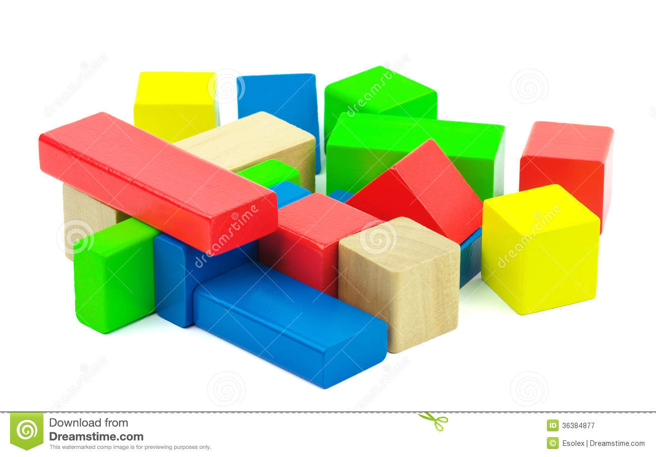 Kids building blocks clipart jpg royalty free stock Wooden Blocks Clipart - Clipart Kid jpg royalty free stock