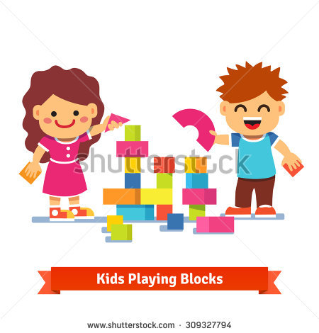 Kids building blocks clipart banner library download Kids Building Blocks Stock Images, Royalty-Free Images & Vectors ... banner library download