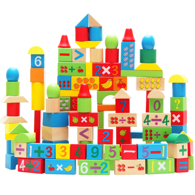 Kids building blocks clipart clipart royalty free library Wood 100 digital fruit building blocks large particles wooden child ... clipart royalty free library
