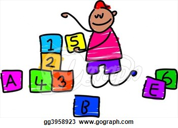 Kids building blocks clipart png library stock Kids Playing Blocks Clipart | Clipart Panda - Free Clipart Images png library stock