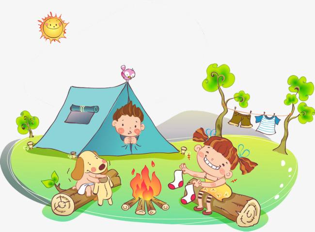 Xamping clipart png transparent Kids camping clipart 5 » Clipart Station png transparent