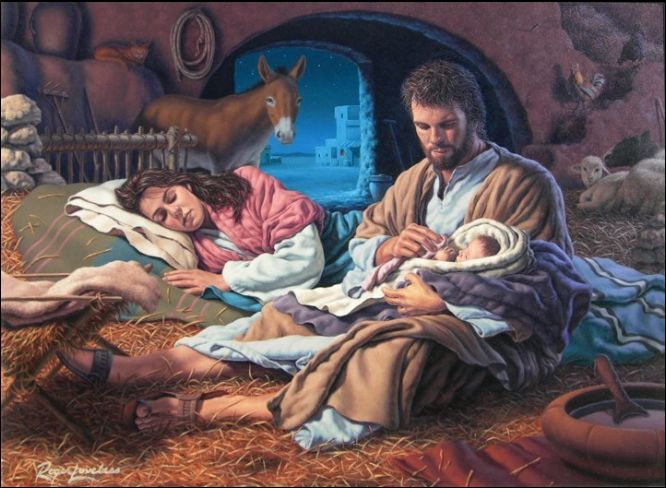 Kids carrying jesus mary and joseph clipart png royalty free library 17 Best images about Mary and baby Jesus on Pinterest | Blessed ... png royalty free library