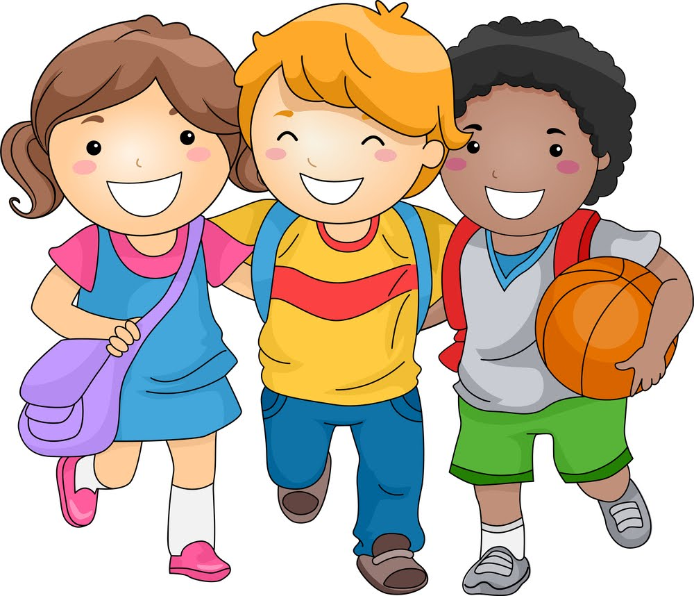 Kids character clipart