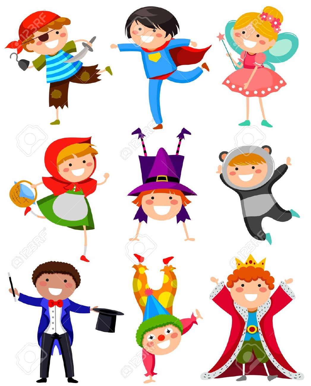 Kids character costumes clipart png free download Kids character costumes clipart - ClipartFest png free download