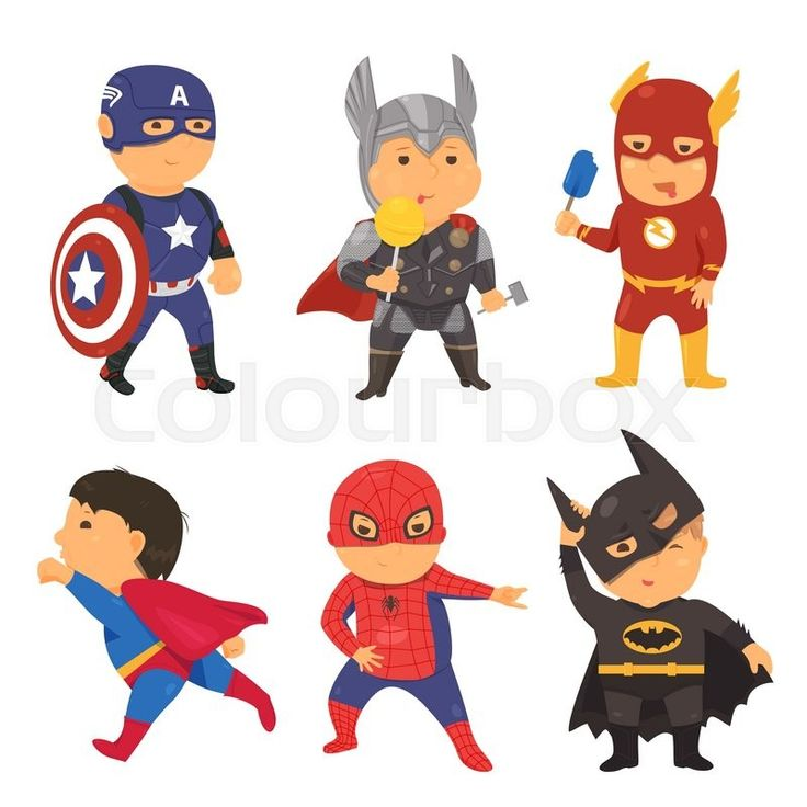 Kids character costumes clipart jpg royalty free 17 Best ideas about Superhero Costumes Kids on Pinterest ... jpg royalty free