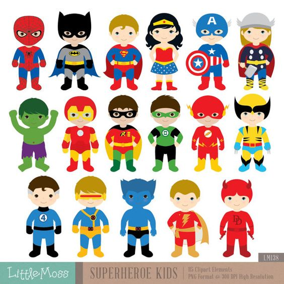 Kids character costumes clipart clip art free stock 18 Boys Superhero Costumes Clipart, Superheroes Clipart, Superhero ... clip art free stock