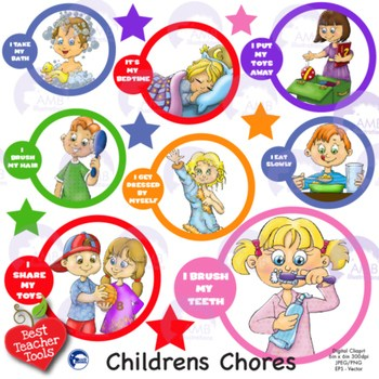 Kids chores clipart clip art black and white stock Kids chores clipart 6 » Clipart Portal clip art black and white stock