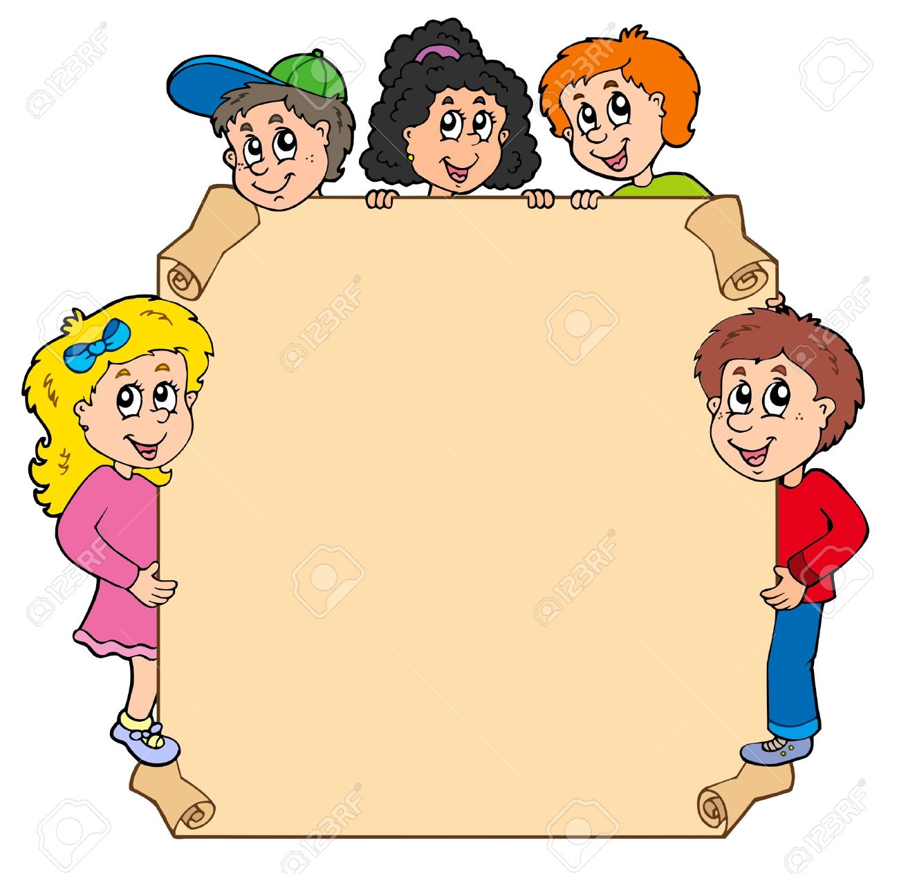 Kids cliparts jpg royalty free library Kids presenting clipart - ClipartFest jpg royalty free library