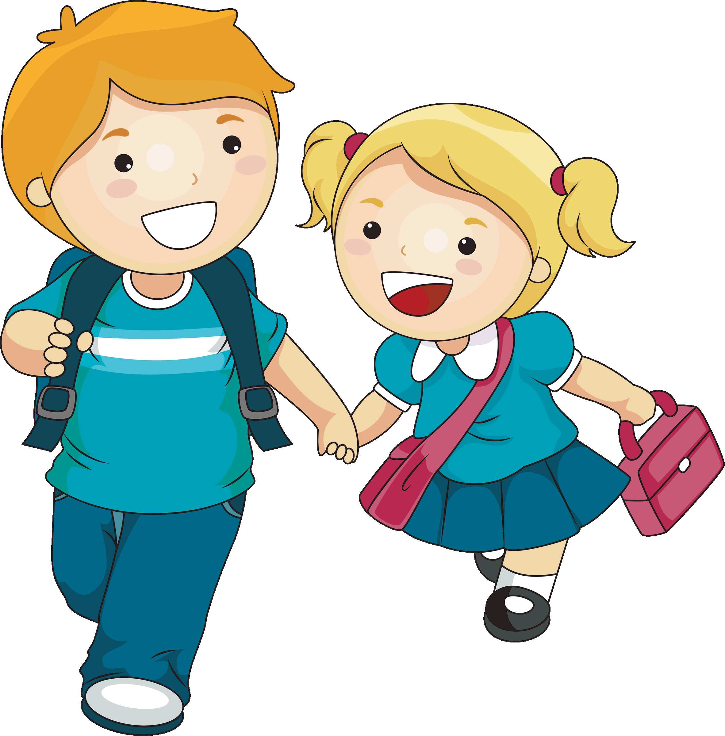 Kids at school clipart vector free Free Kids Clipart & Kids Clip Art Images - ClipartALL.com vector free