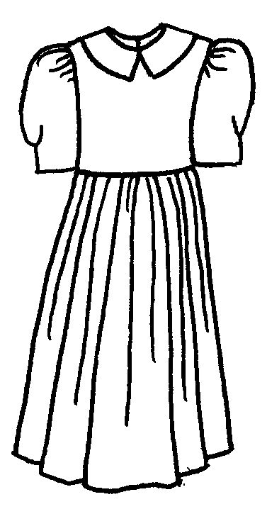 Simple black and white girls clothing clipart royalty free library Free White Clothing Cliparts, Download Free Clip Art, Free ... royalty free library