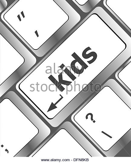 Kids computer keyboard black and white clipart picture library download Kid Computer Keyboard Black and White Stock Photos & Images - Alamy picture library download