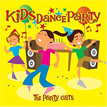 Kids dance party clipart clip black and white Kids Dance Party clip black and white