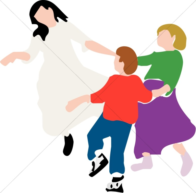 Kids dancing in circle clipart banner royalty free Circle Dance | Youth Program Clipart banner royalty free