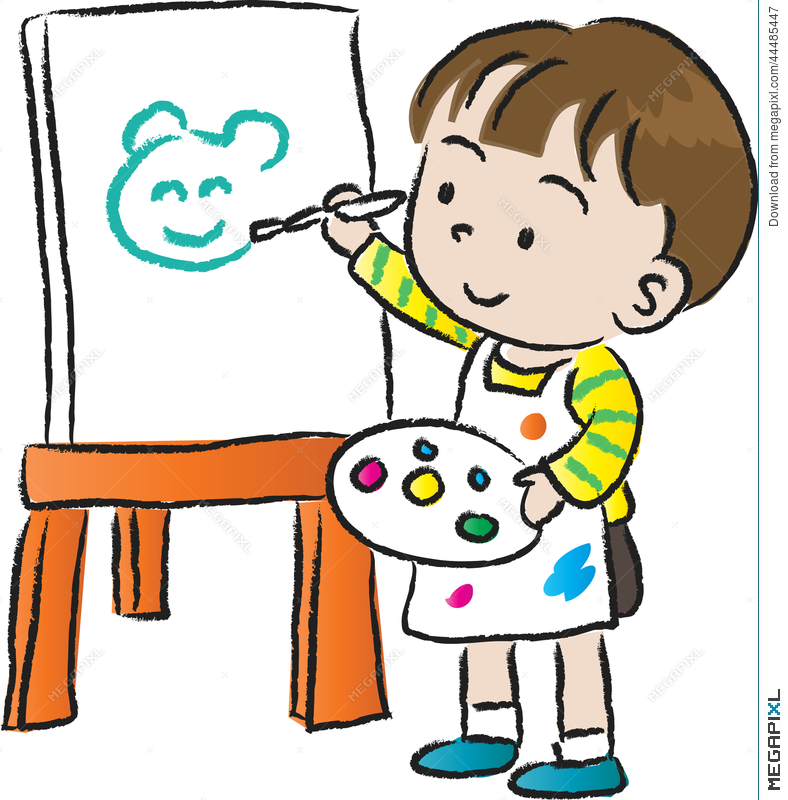Kids drawing clipart graphic royalty free library Kids Drawing Clipart at PaintingValley.com   Explore ... graphic royalty free library