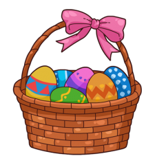 Kids easter basket clipart royalty free library Free Easter Basket Clipart, 1 page of free to use images royalty free library