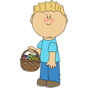 Kids easter basket clipart library Easter 11 - Polyvore library