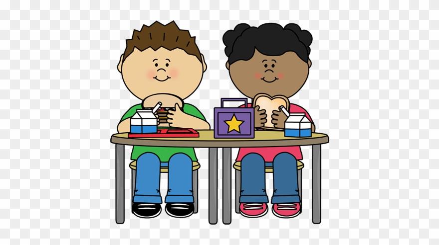 Kids eating clipart jpg download Kids Eating Lunch Clipart - Png Download (#1666919) - PinClipart jpg download