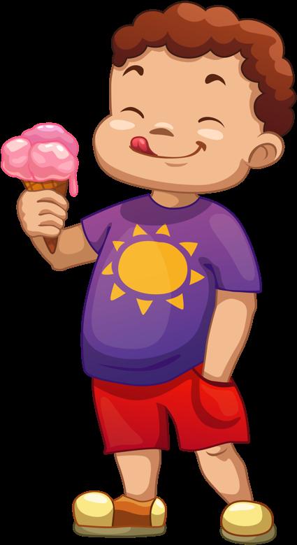 Kids eating ice cream clipart jpg royalty free library Clipart Kids Ice Cream - Boy Eating Ice Cream Clipart ... jpg royalty free library