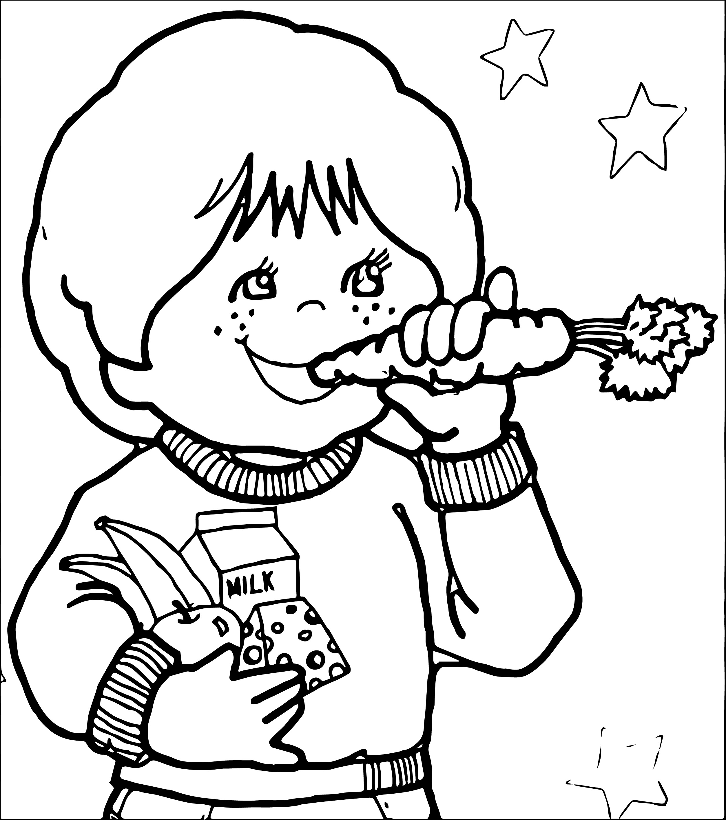 Kids eating pizza clipart black and white clip download Kids Eating Healthy Clipart | Free download best Kids Eating ... clip download