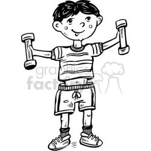 Kids exercise clipart black and white free library Kids exercise clipart black and white 5 » Clipart Portal free library