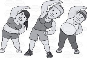 Kids exercise clipart black and white clipart free stock Kids exercise clipart black and white 1 » Clipart Portal clipart free stock