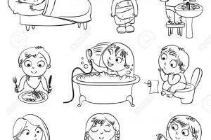 Kids exercise clipart black and white picture black and white library Kids exercise clipart black and white 4 » Clipart Portal picture black and white library