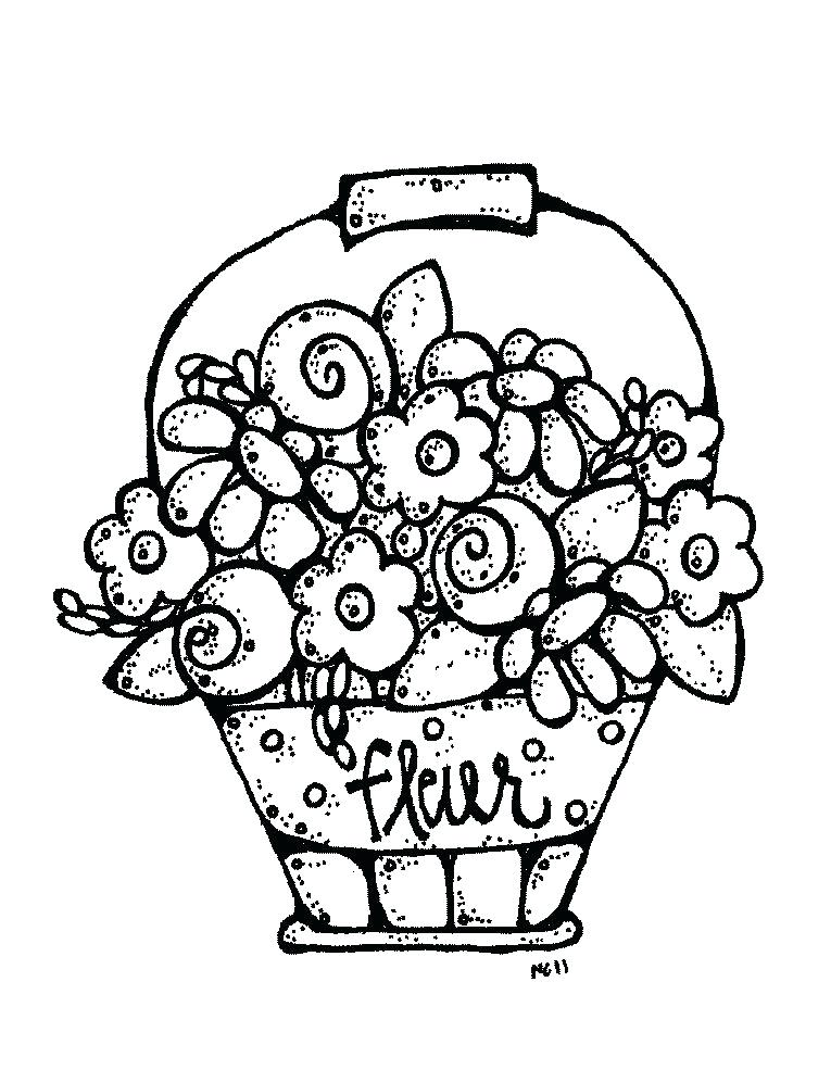 Kids flower bunch clipart black and white vector freeuse library bunch of flowers clipart black and white – minervatech.net vector freeuse library