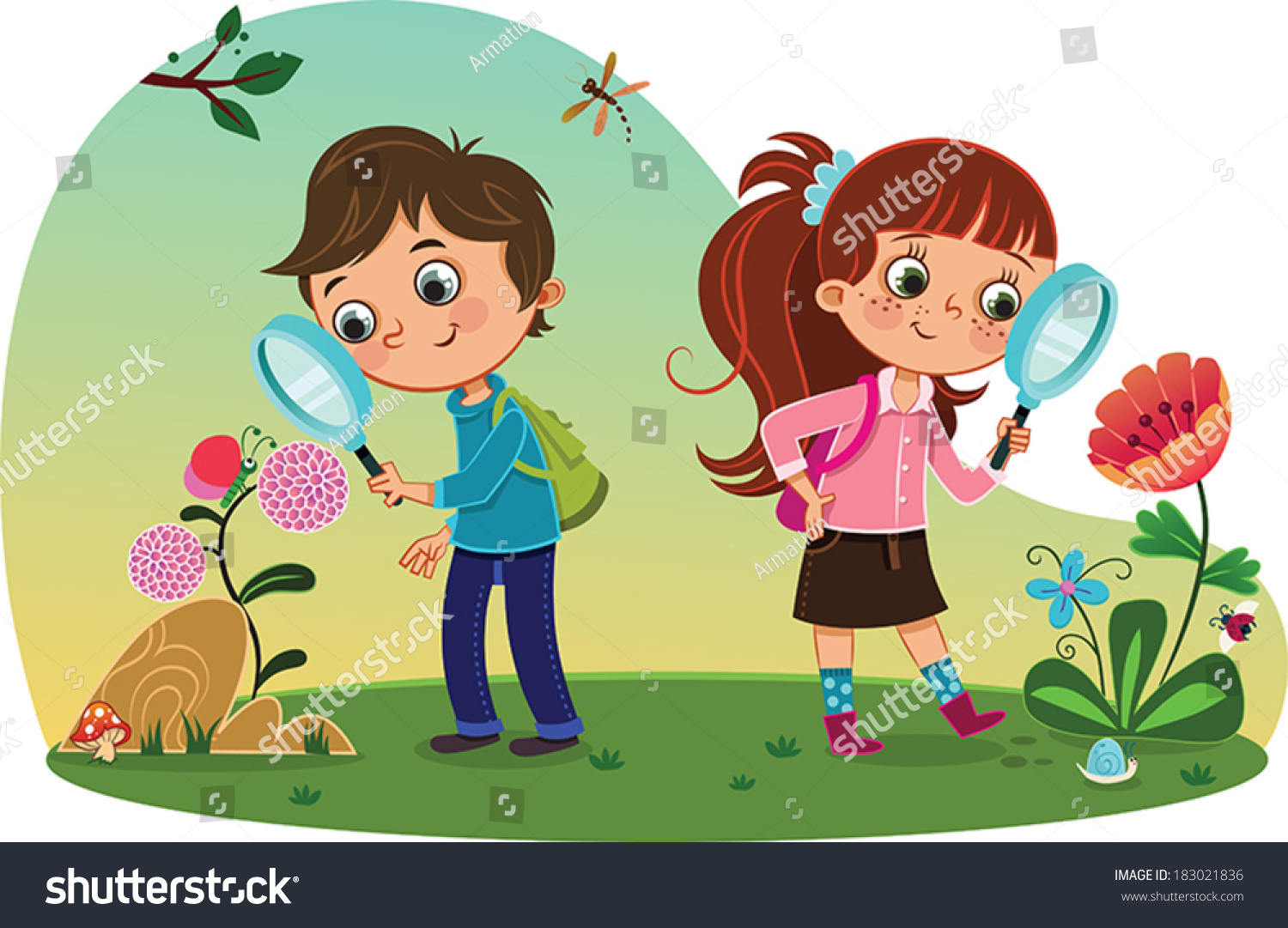 Kids going for a nature walk clipart banner Nature walk clipart 7 » Clipart Station banner