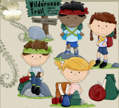 Kids going for a nature walk clipart picture library library Nature Walk Clipart 55918 - Clip Art Library picture library library